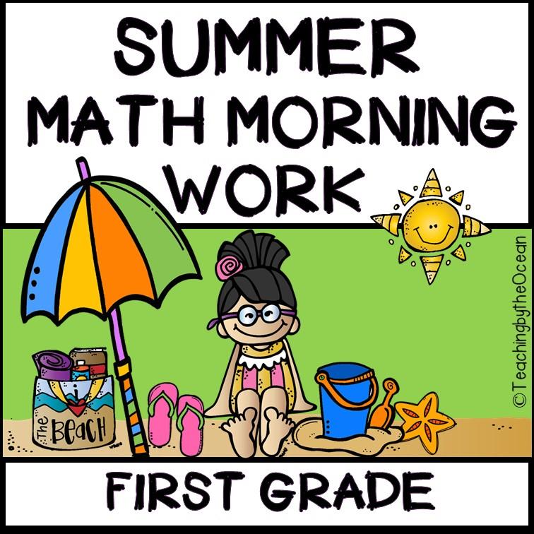 1st Grade Summer Math Worksheets
