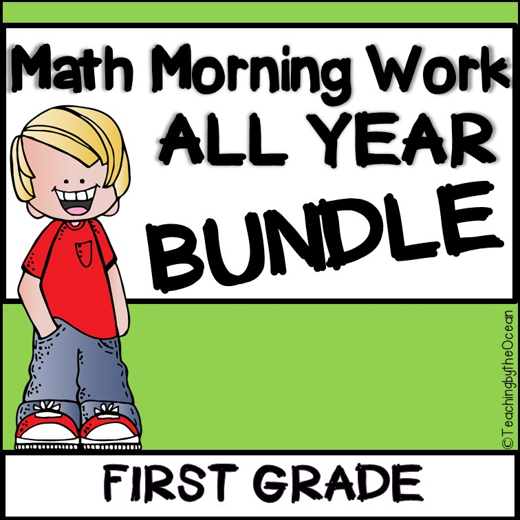 First Grade Morning Math Printable Worksheets