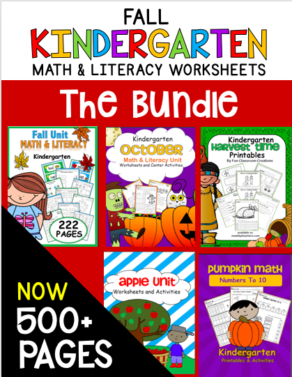 Fall Math and Literacy Resources