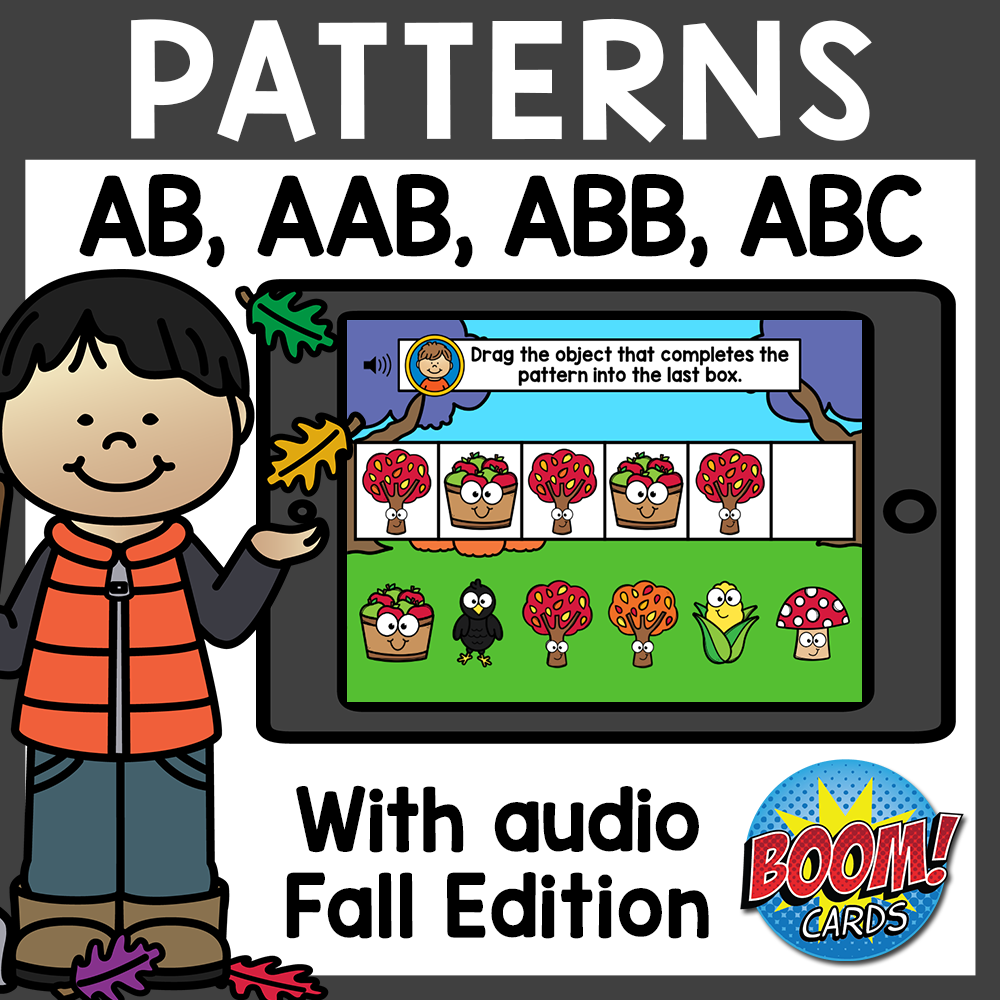 Fall Patterns Boom Cards