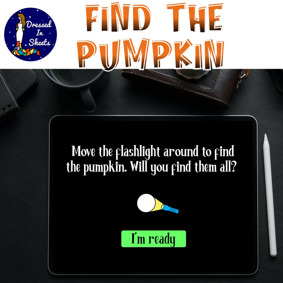 Search and Find | The Pumpkin Challenge | BOOM Cards | Distance Learning