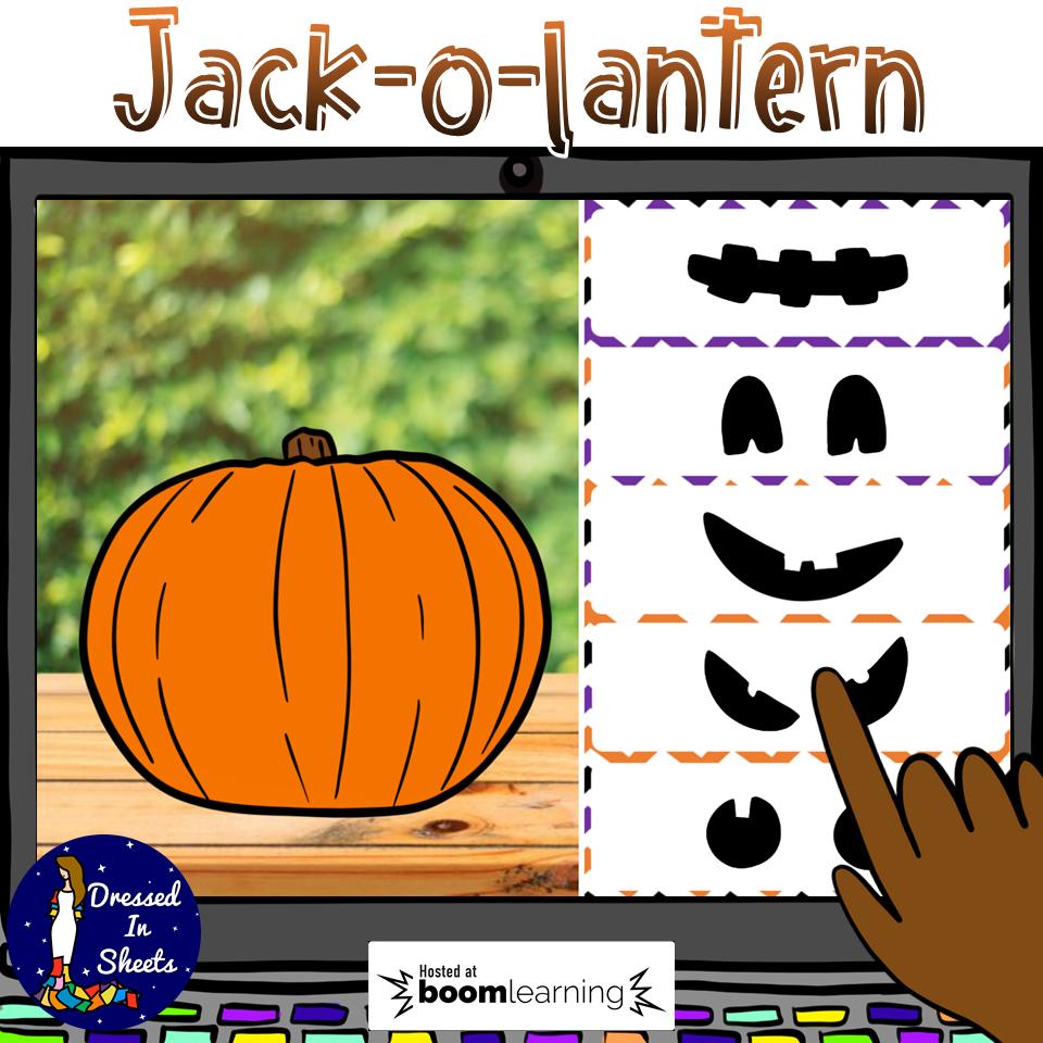 Build a Jack-o-Lantern BOOM Cards