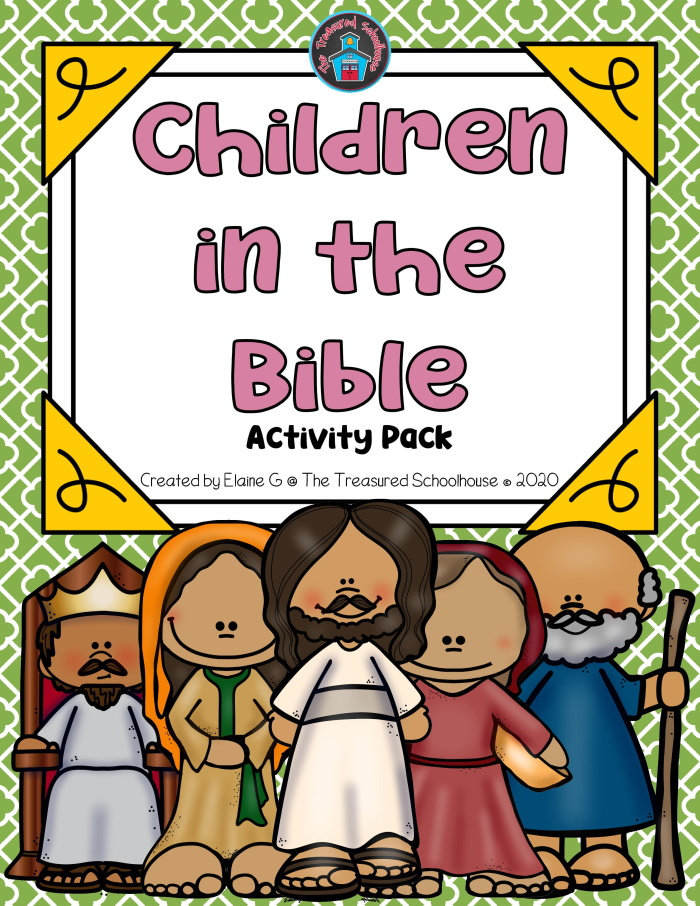 Children in the Bible Activity Pack