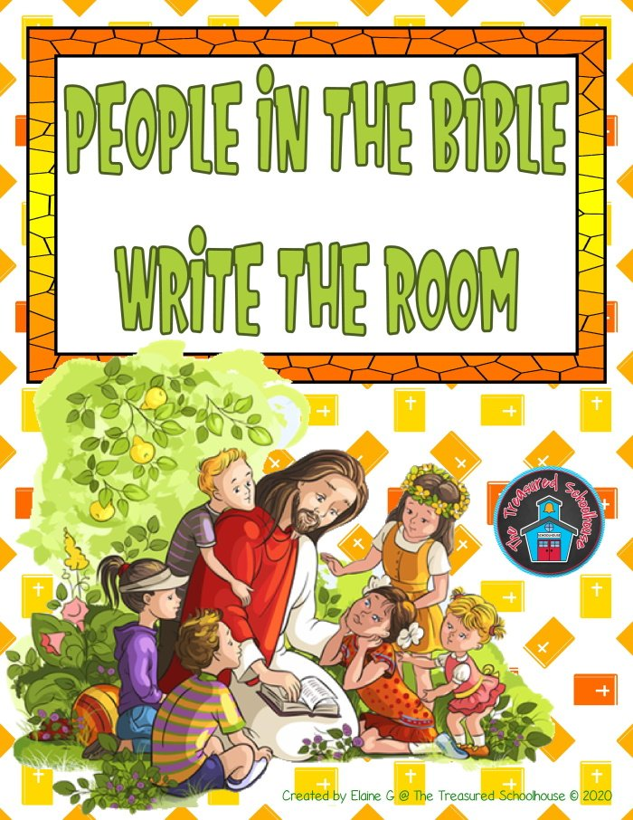People in the Bible Write the Room