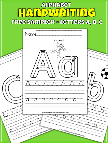 Free Letter Writing Worksheets