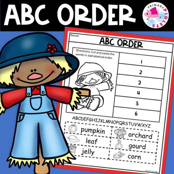 Fall ABC Order | Distance Learning