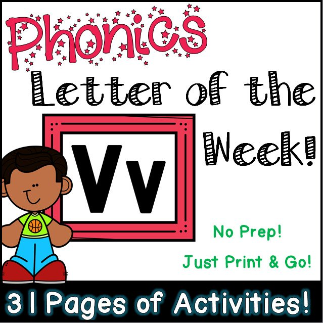 Phonics Letter of the Week - Letter Yy Activity Pack