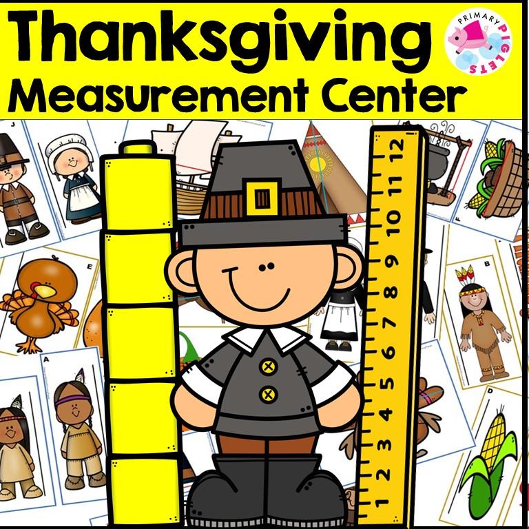 Thanksgiving Measurement Activities