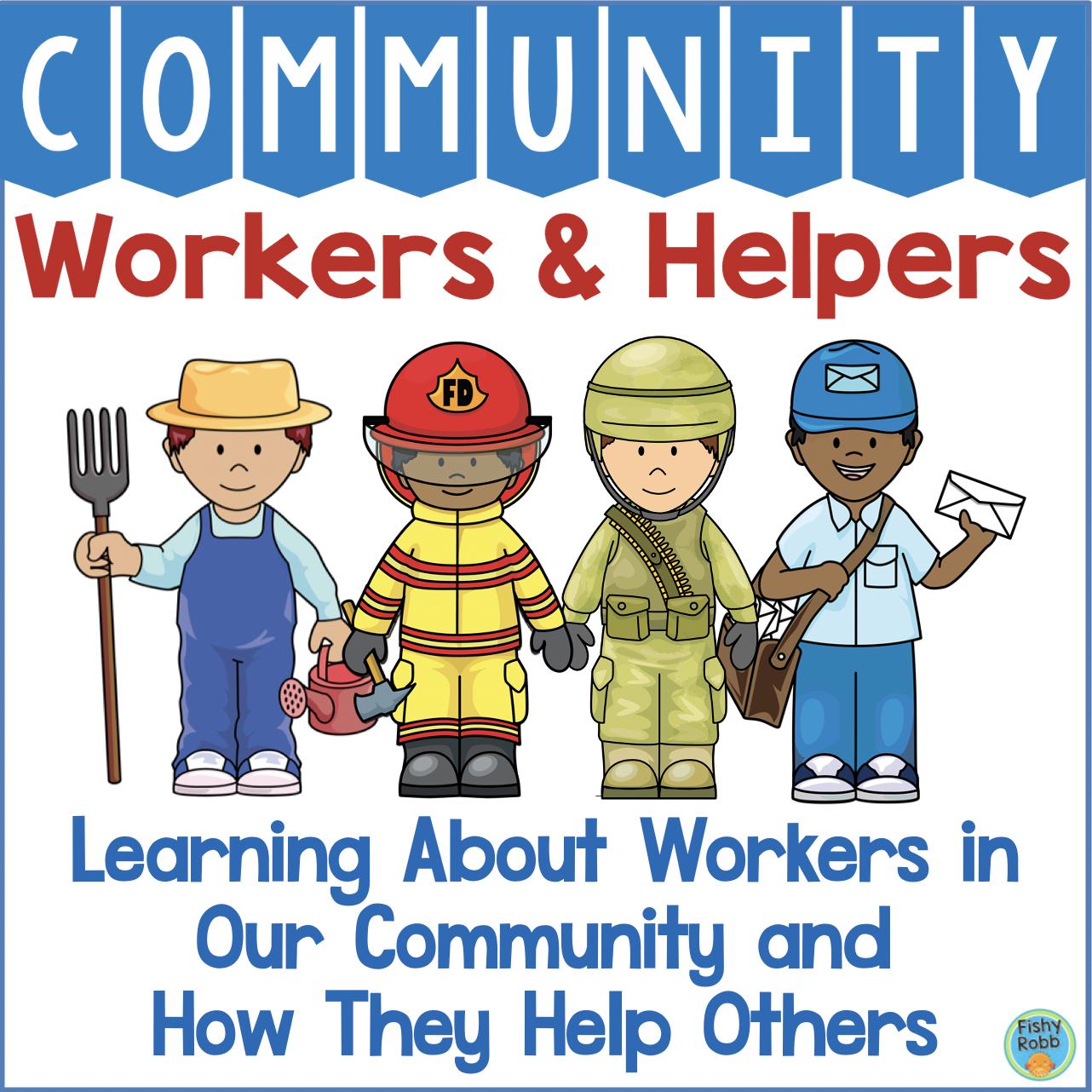 Community Helpers Worksheets