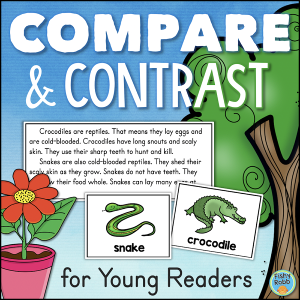 Compare and Contrast Activities Worksheets