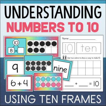 Making 10 Activities Kindergarten Math Centers
