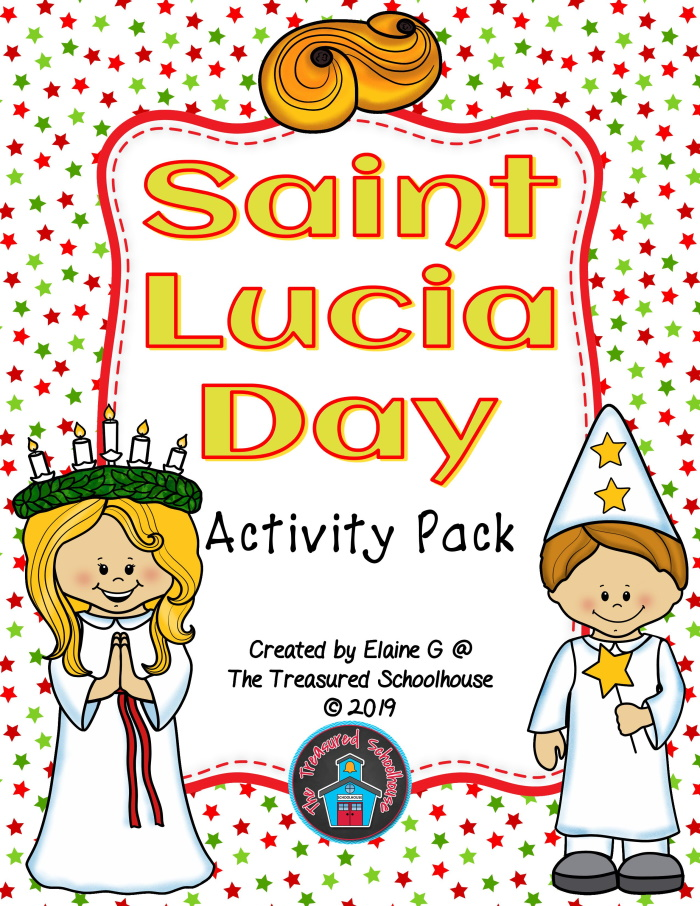 St. Lucia Day Activity Pack