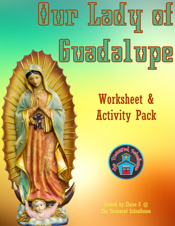 Our Lady of Guadalupe Worksheet and Activity Pack