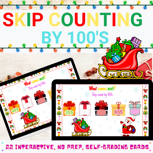 Skip Counting by 100 Boom Cards