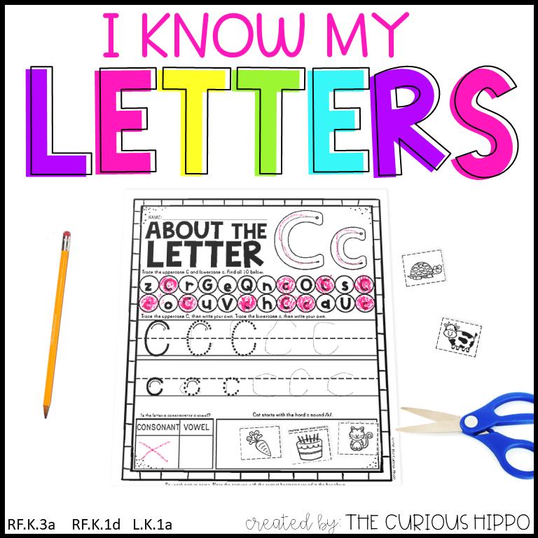 Letter Review Worksheets PDF Printables