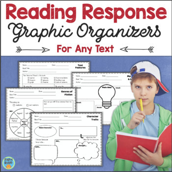 Reading Response Activities Graphic Organizers for Any Text