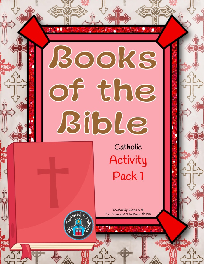 Books of the Bible Activity Pack 1 - Catholic