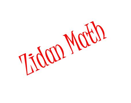 Zidan Math