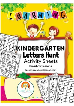 Alphabet Activity Sheets Worksheets