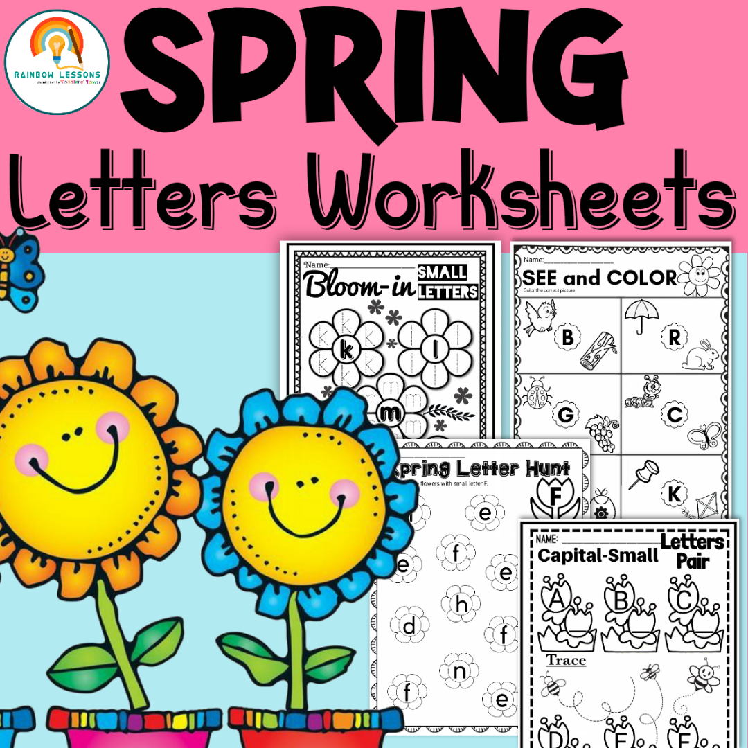 Spring Letters Worksheets