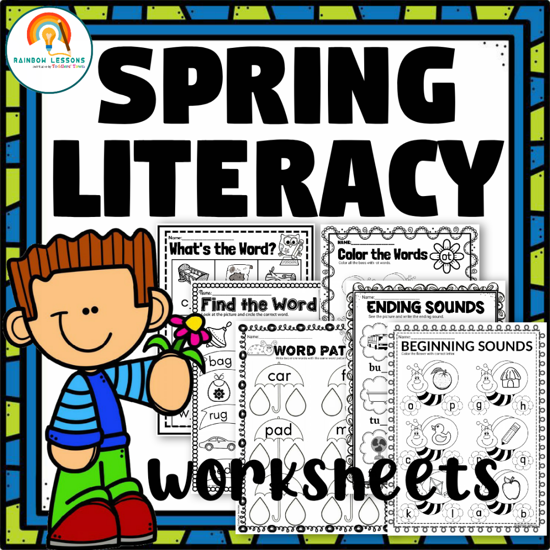 Spring Literacy Worksheets