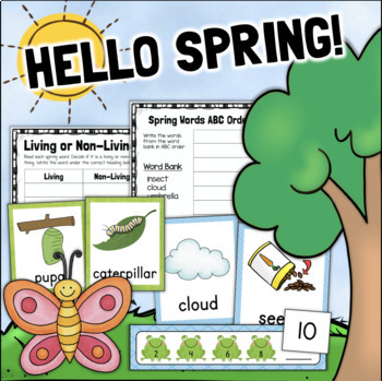 Spring Activities Worksheets