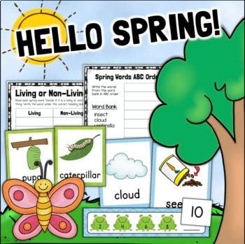 Spring Activities Worksheets