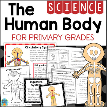 The Human Body Systems Organs for Primary Grades