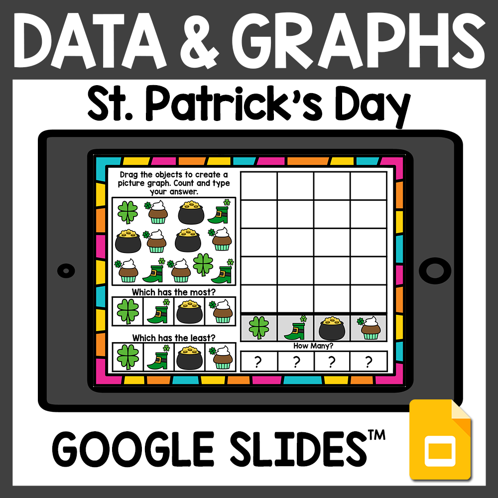 St. Patrick's Day Data and Graphing Activities