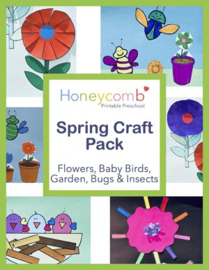 Spring Craft Pack Kindergarten