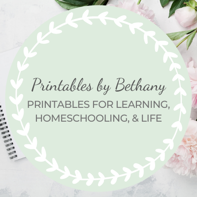 Printables by Bethany