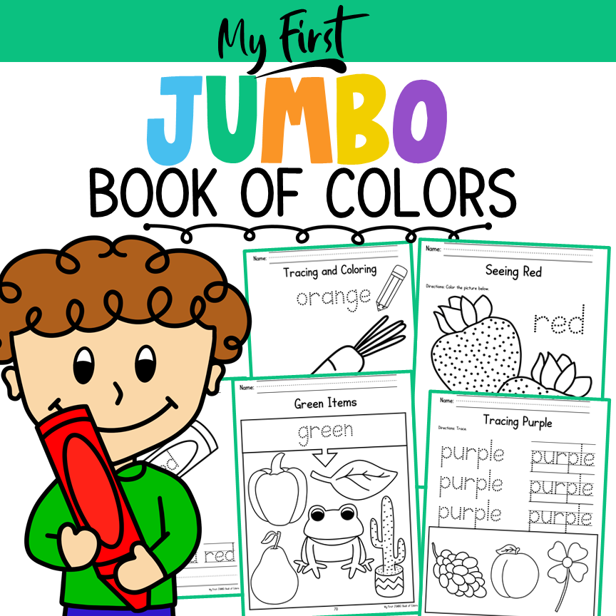 My First JUMBO Book of Colors