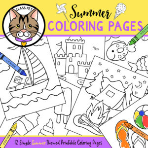 Summer Coloring Pages Printable