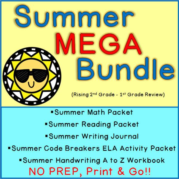 Printable Summer Activities 1st Grade