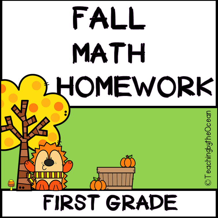 1st Grade Math Homework - Fall