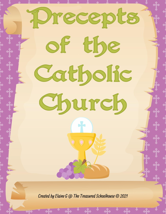 Precepts of the Catholic Church Pack
