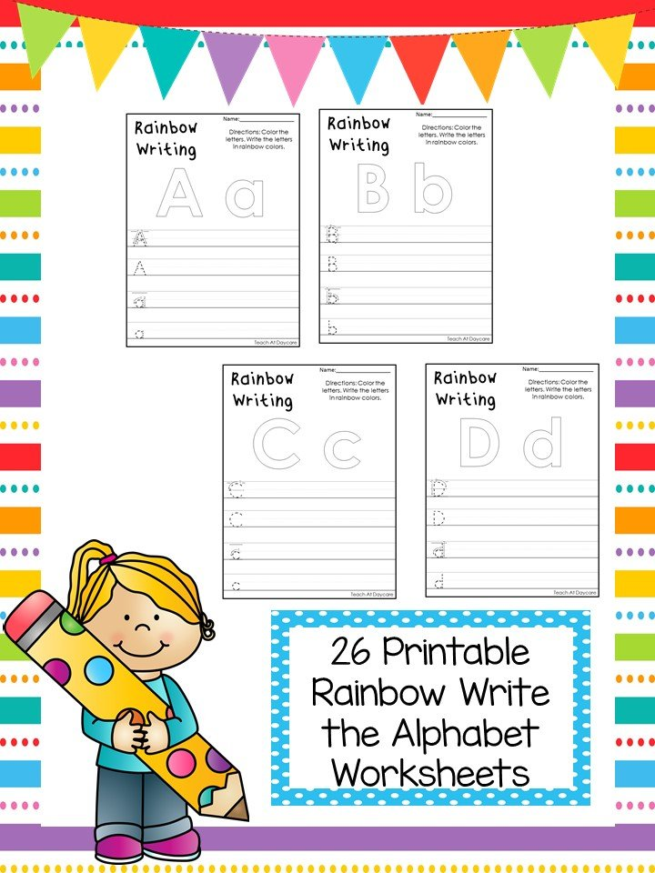 Free Alphabet Printable Worksheets