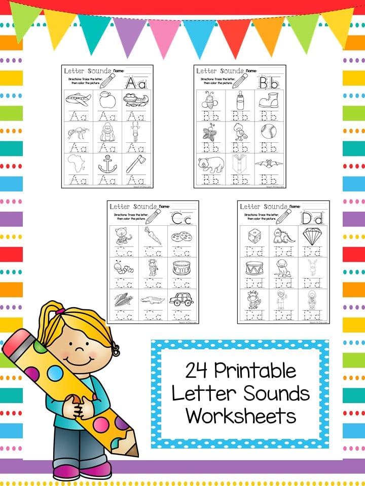 Alphabet Letters Printable Worksheets