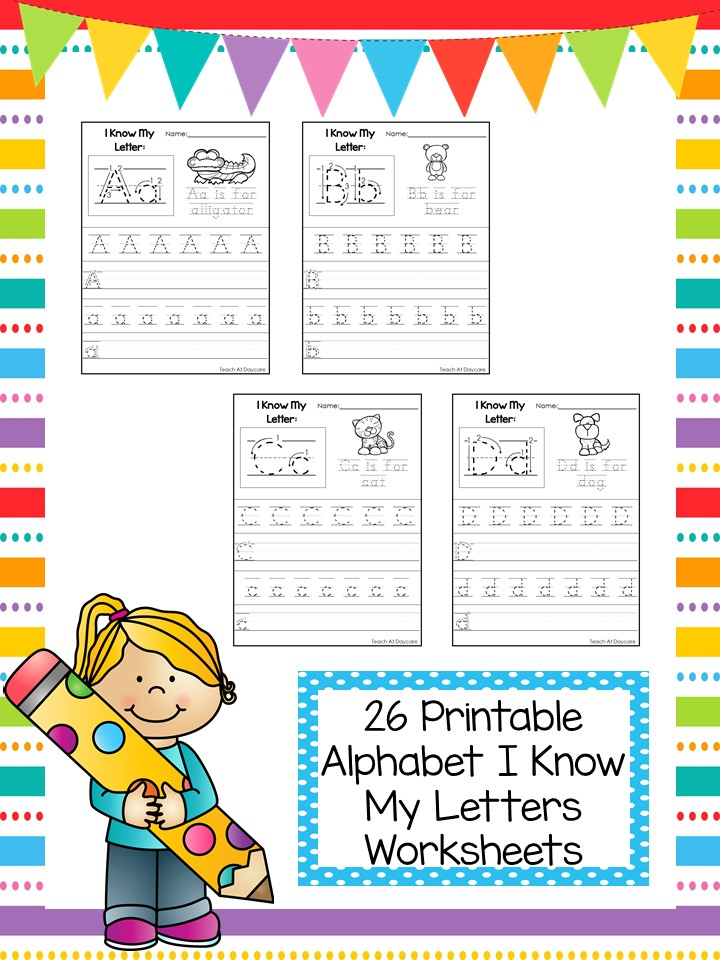 Letter Writing Printable Worksneets