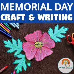 Memorial Day Paper Craft Printable