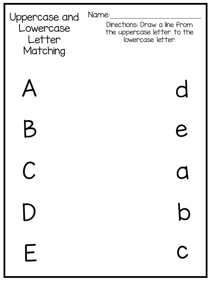9 Letter Recognition Worksheets and Activities