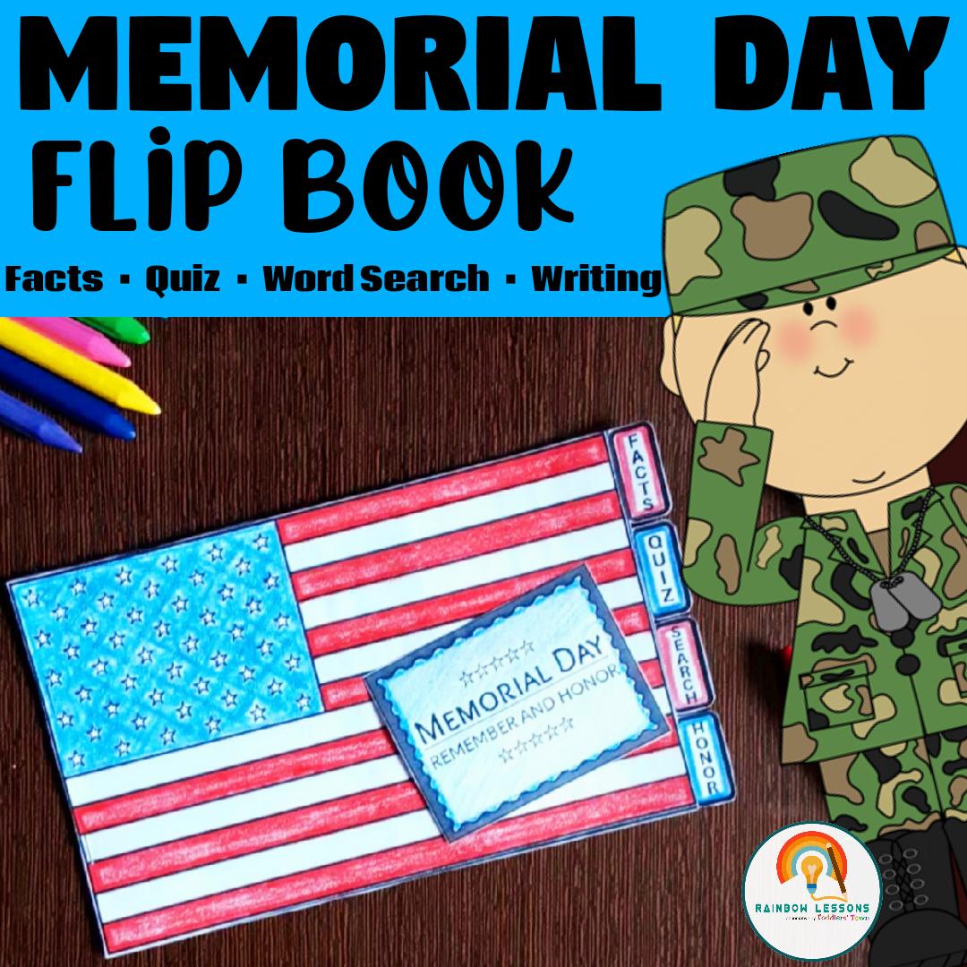 Memorial Day Printable Flip Book