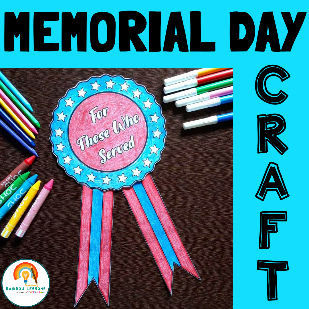 Memorial Day Craft Printable