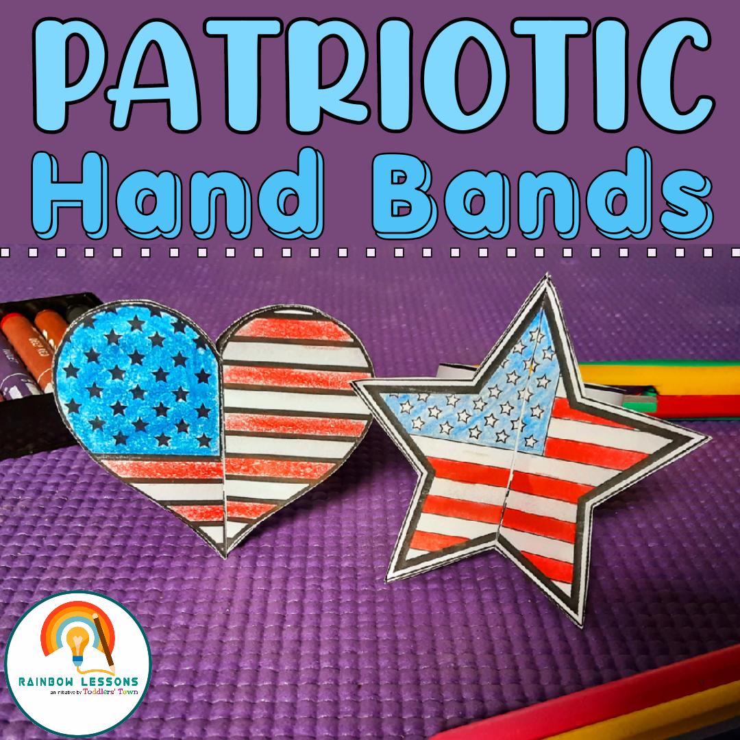 Patriotic Head Bands Printable Craft