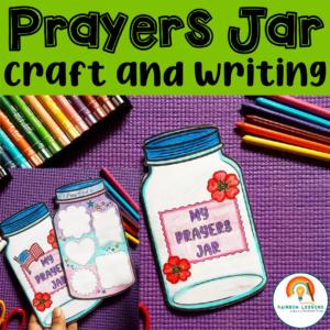 End of the Year Printable Prayer Jar Craft