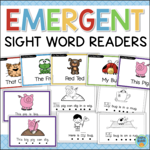 Printable Sight Word Readers