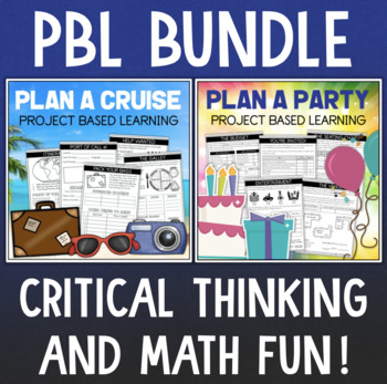 PBL Project Based Learning BUNDLE Cruise & Party