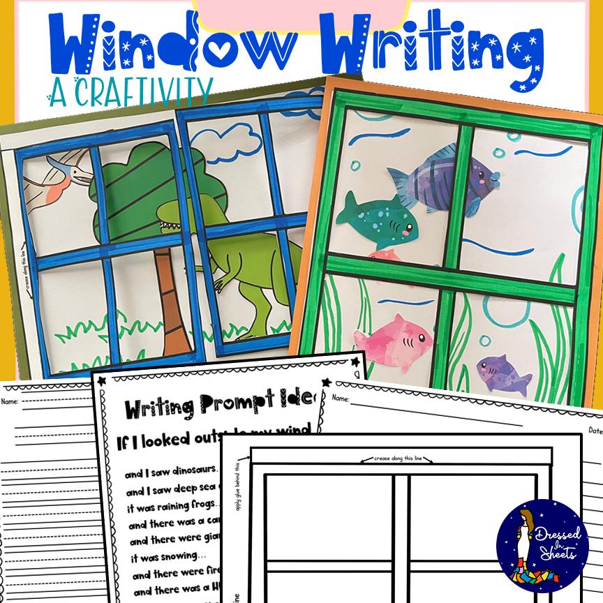 Window Writing Craft Printable
