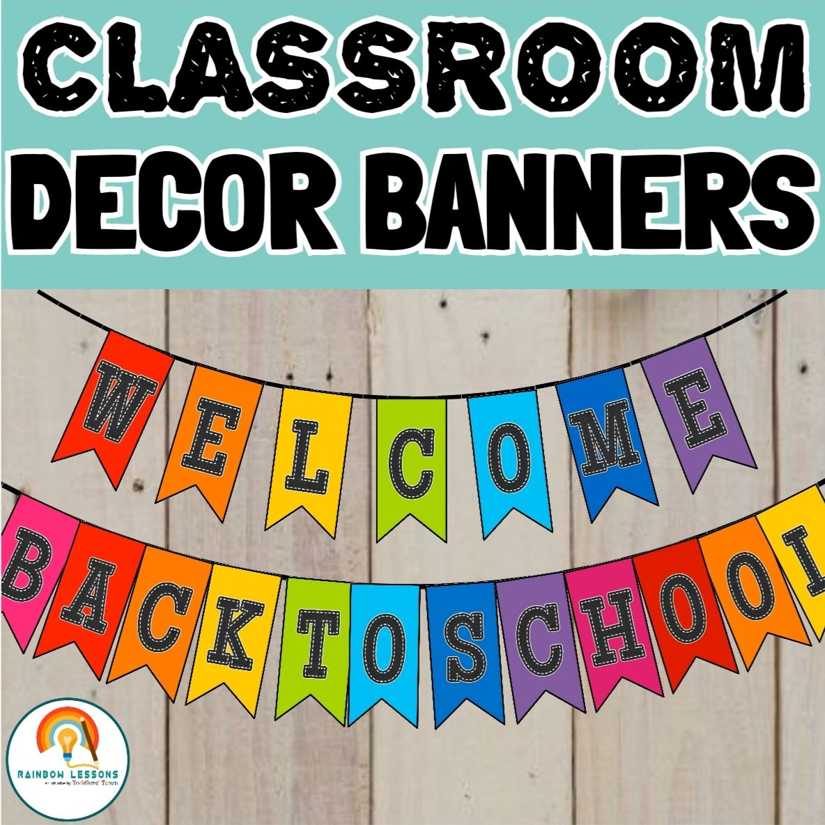 Classroom Welcome Banner Printable Decor