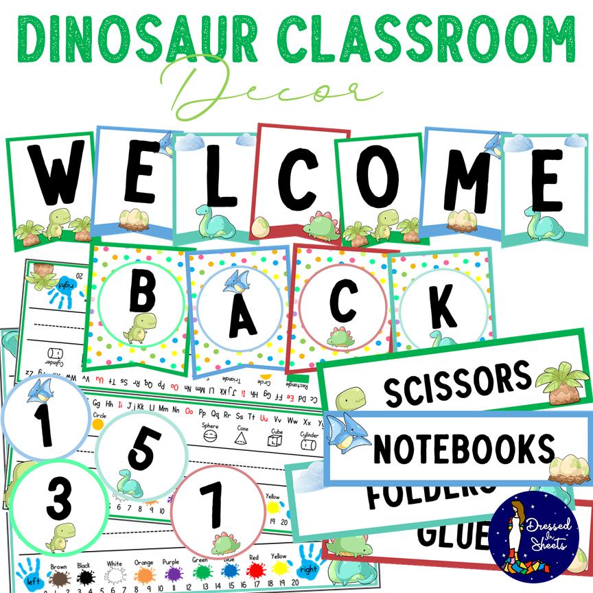 Classroom Welcome Decor Printable